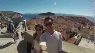 Croatia Honeymoon 2013 - GoPro