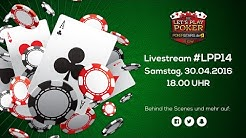 LIVE - Die Let's Play Poker pokerstars.de Show #14 am 30.04 um 18 Uhr | LPP#14