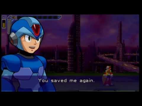 Mega Man: Maverick Hunter X (Cutscenes) (Cutscenes - X)
