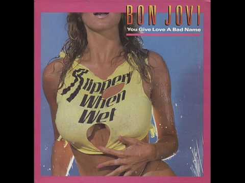 Bon Jovi - You Give Love A Bad Name (Studio Version)