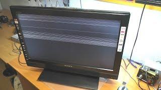 Полосы на экране / Телевизор SONY KDL-26S3000