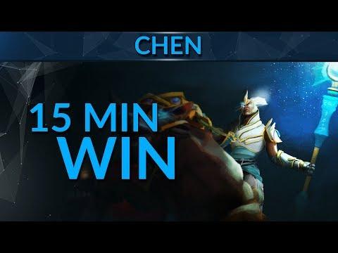 Chen Domination: 15MIN VICTORY | Dota 2 Guide