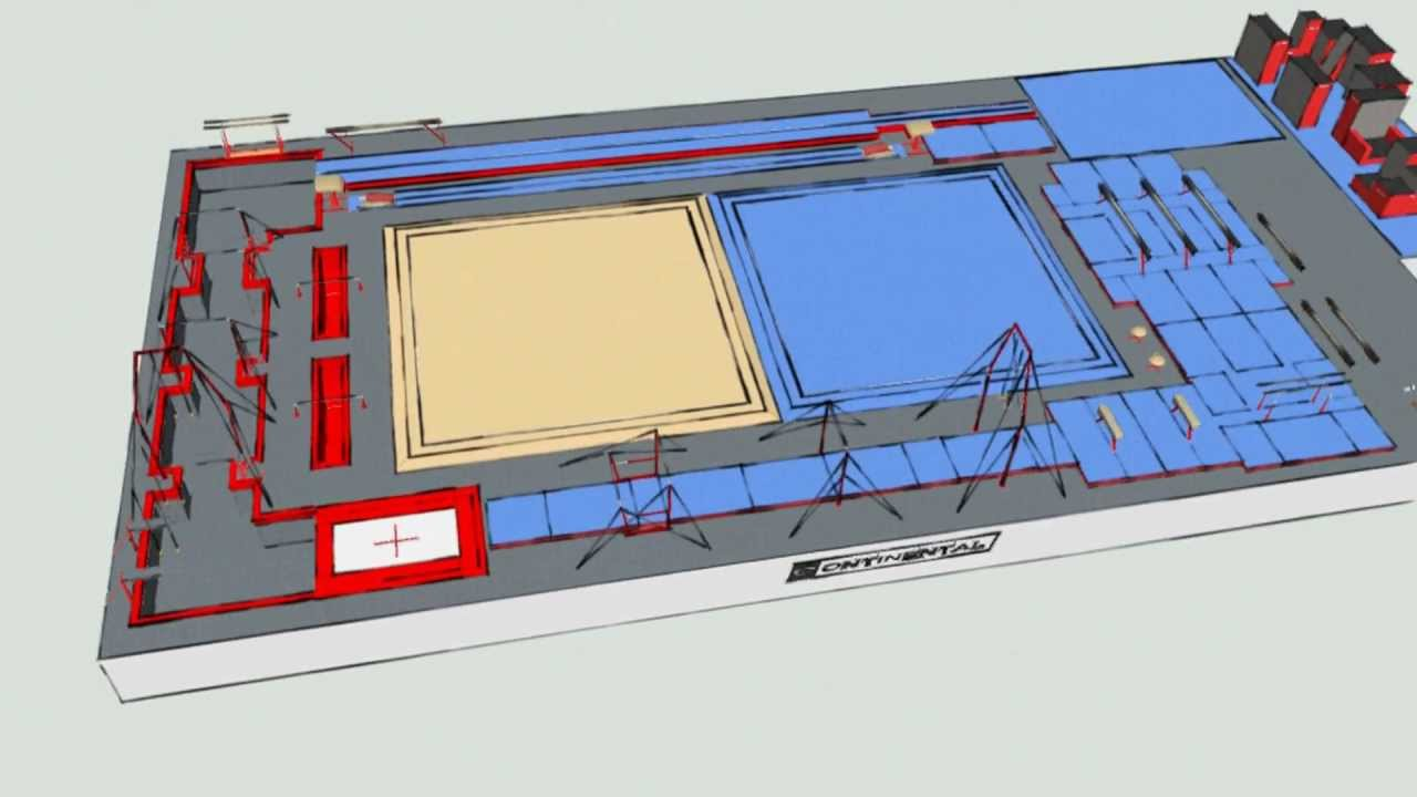 Gymnastics Training Facility Design Process Youtube