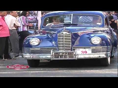 vintage car rally mumbai 2013