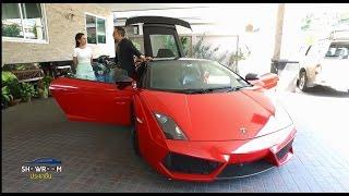 รถคันโปรด : ดีเจภูมิ กับ แลมโบกินี่ สีแดง  ของรักของหวงที่สุด