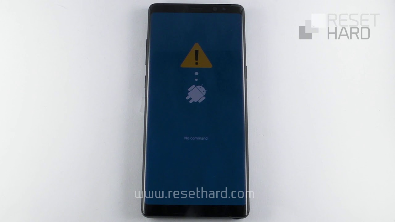 How to Hard Reset Samsung Galaxy Note 8