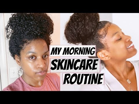 My Simple All Natural Skincare Morning Routine (For Youthful Acne Free Skin & Lighten Dark Spots) thumbnail