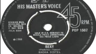 Sacha Distel Sexy 1966