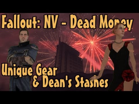 Fallout: NV - Dead Money - ALL Unique Weapons & Armor Plus Dean's Stashes Guide (DLC)