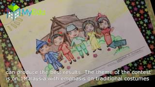 Coloring Contest with Uneh (King of Colour Pencils, Malaysia) at Museum Negara