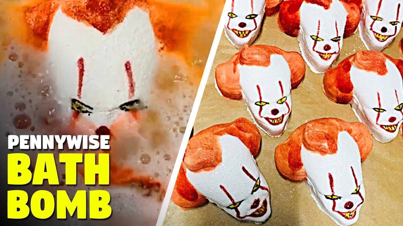 Creepy Pennywise Clown Bath Bomb Youtube
