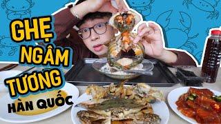 Lần đầu ăn Ghẹ ngâm tương, Cua ngâm tương và Cá hồi ngâm tương Hàn Quốc