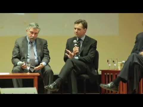 8 Sept 2009 - 2 of 9 - George Soros,  Paul Krugman, Nouriel Roubini - Economic Crisis - PEN