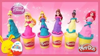 Princesses Disney en Pâte à modeler Play Doh en français - Magiclip - Titounis streaming