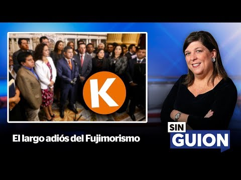 El largo adiós del Fujimorismo - SIN GUION con Rosa María Palacios