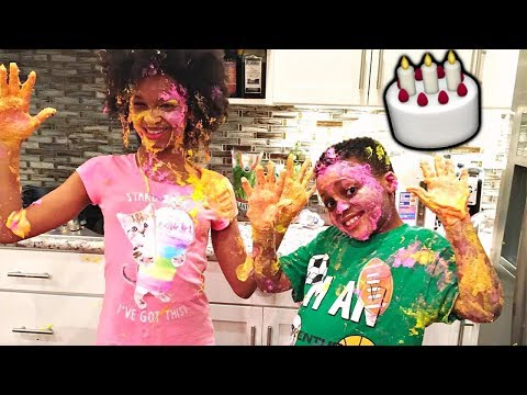 Thumbnail: CAKE DECORATING CHALLENGE + FOOD FIGHT