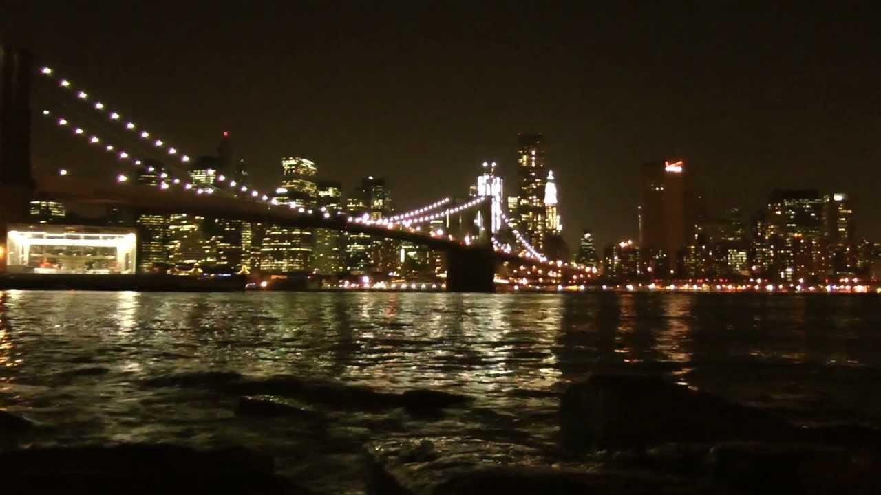 New York City SKYLINE At Night, NY (United States) FULL HD