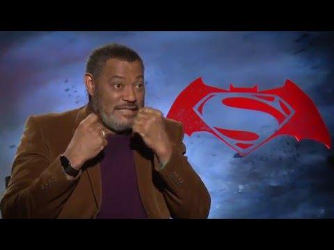 "Batman V Superman ""Perry White"" Interview - Laurence Fishburne"