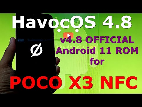 HavocOS 4.8 OFFICIAL for Poco X3 NFC Android 11