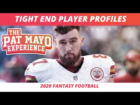 2020 Fantasy Football TE Rankings — Tight End Player Profiles, Early ADP, Sleepers from YouTube · Duration:  54 minutes 23 seconds