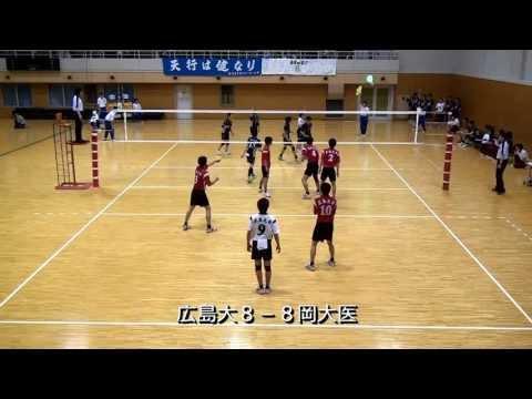 20130511中国春季リーグ広大VS岡大医学部第5セット