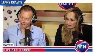 Lenny Kravitz en interview dans le 17/20 RFM de Pat Angeli et Marie-Pierre Schembri