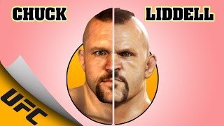 CHUCK LIDDELL evolution [UFC 2009 UNDISPUTED - UFC 2]