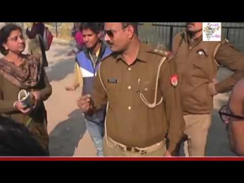 Allahabad CMP degree college मे फायरिंग एवं देसी बम चलें
