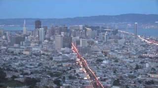 Wonders of San Francisco #5: Twin Peaks at Dusk
