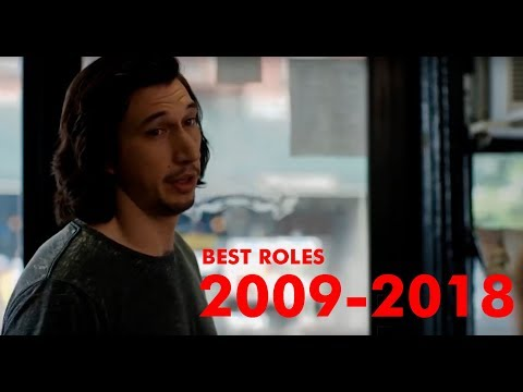 Adam Driver EVOLUTION  Best Roles 20092018