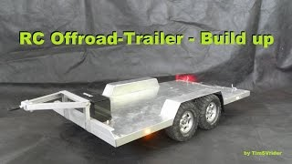 Rc Offroad-trailer - Build Up