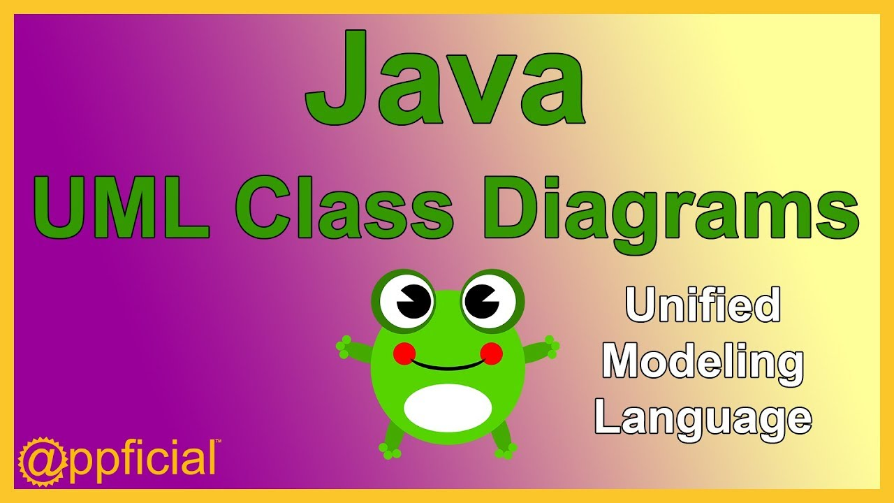 java uml class diagrams unified modeling language diagram example java inheritance appficial [ 1280 x 720 Pixel ]