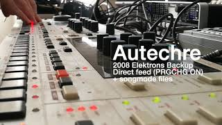 Autechre 2008 Elektrons Backup || Sysex from AE Store