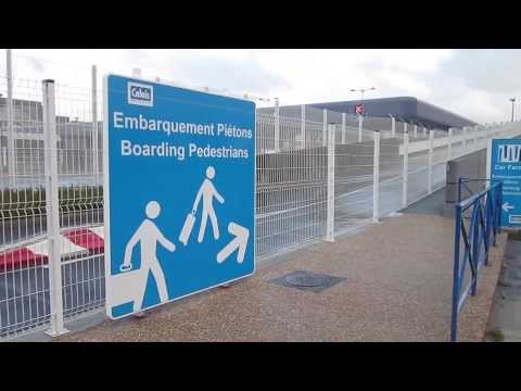P&O Ferry Terminal in Calais, France