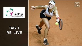 Fed Cup: Deutschland - Tschechien, Tag 1 | Halbfinale | Tennis LIVE | Stuttgart | DAZN Tennis