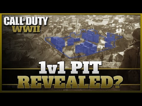 First Look at the 1v1 Pit in Headquarters? (CoD WW2)