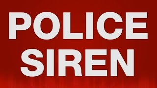 Police Siren SOUND EFFECT - Amerikanische Polizei Sirene SOUNDS