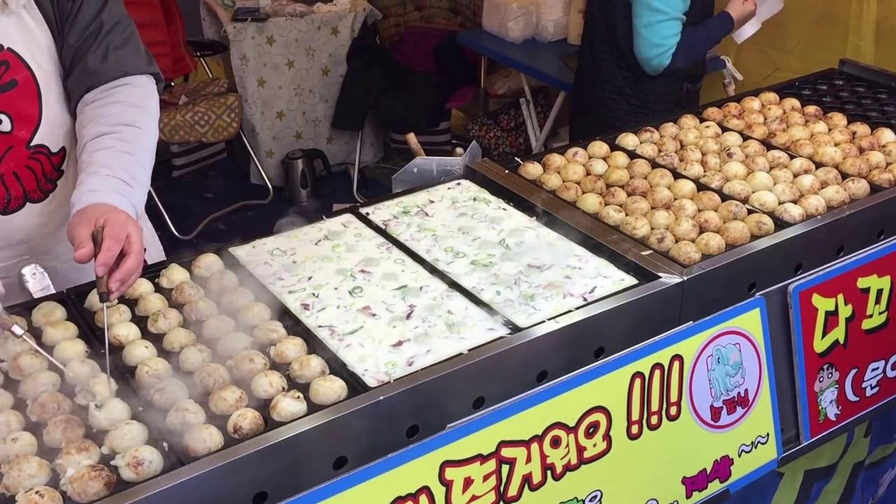 Image result for korean takoyaki street food