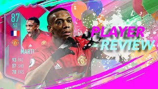 Fifa 19 Fut Birthday Martial 87 Player Review