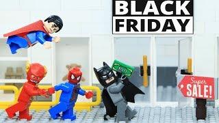 Lego Avengers 4 Superheroes Shopping on Black Friday Episode 1