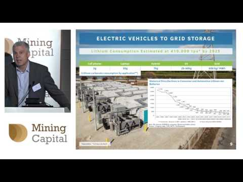 Bacanora Minerals CEO Peter Secker presents to investors at Mining Capital Conference