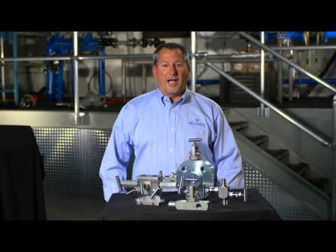 Hex Valve - a line of instrumentation, manifold and needle valves