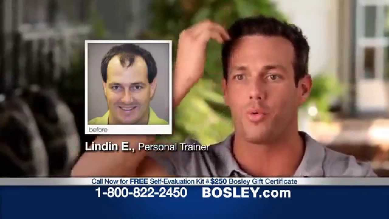 Funny Bosley Hair Commercial It S My Mine You