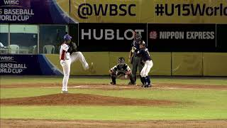 Highlights: Japan v Dominican Rep - U-15 Baseball World Cup 2018