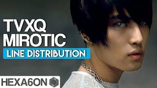 TVXQ Mirotic Line Distribution