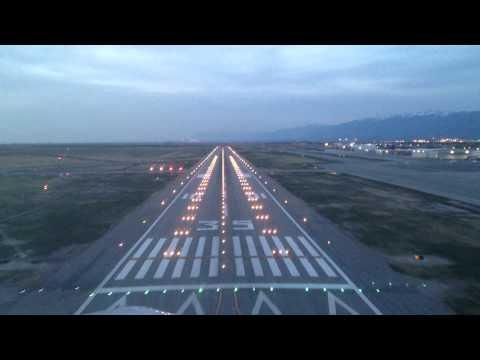 Landing in Salt Lake City