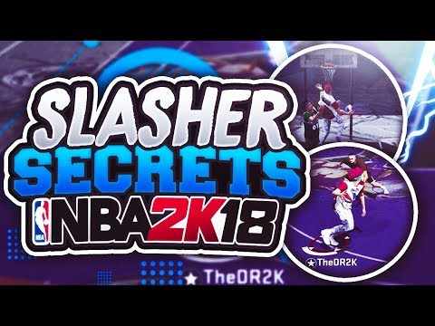 THESE SECRET SLASHER TIPS WILL CHANGE YOUR GAME!! UNLIMITED CONTACT DUNKS 2K18 MYPARK!!