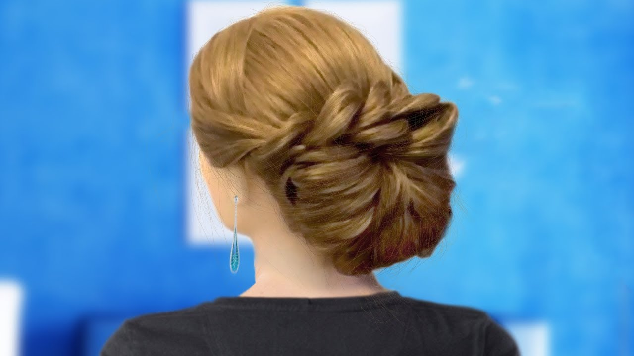 Cute Messy Updo Hairstyle Updos Hairstyles For Prom Wedding Youtube
