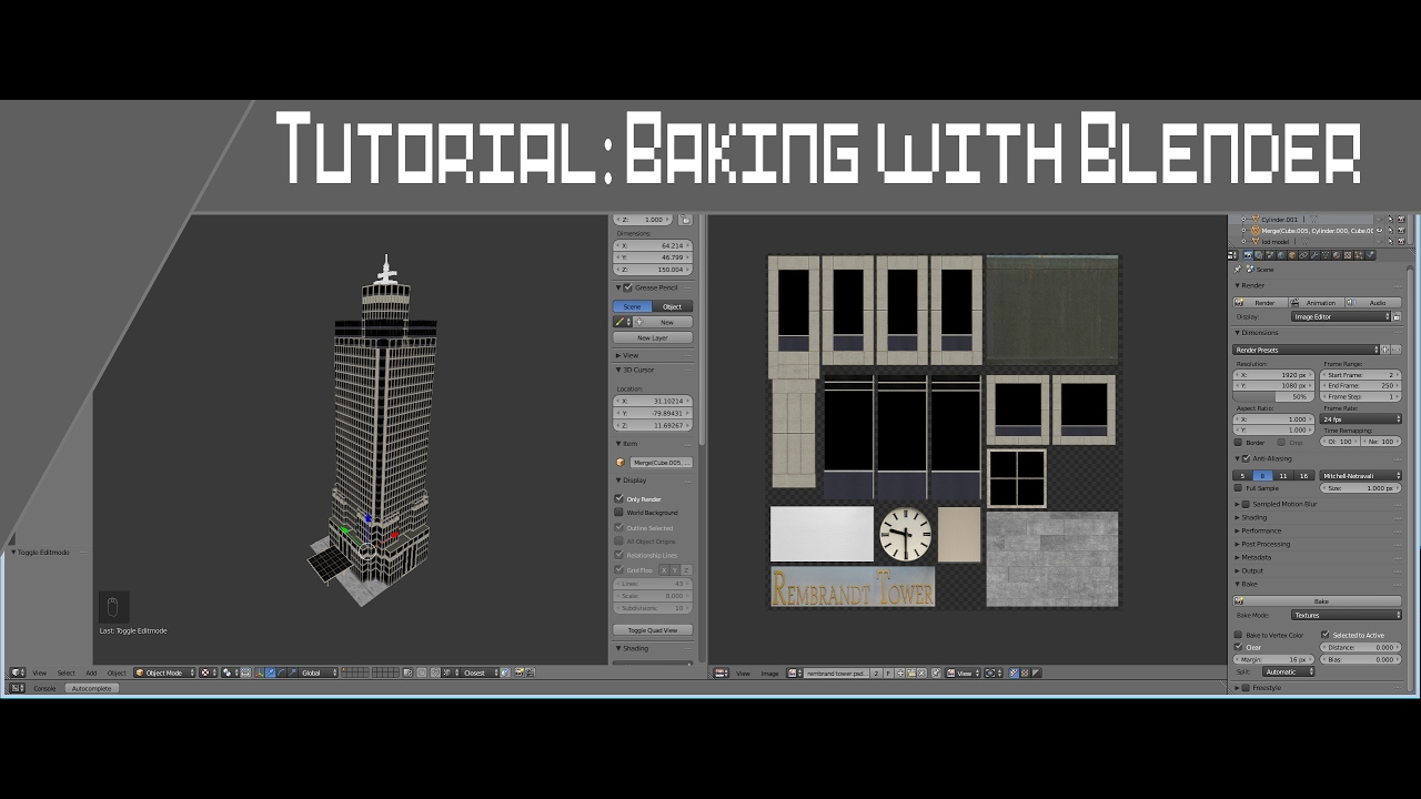 how to add texture blender render