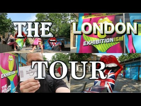 The Rolling Stones London Exhibitionism + Street Tour